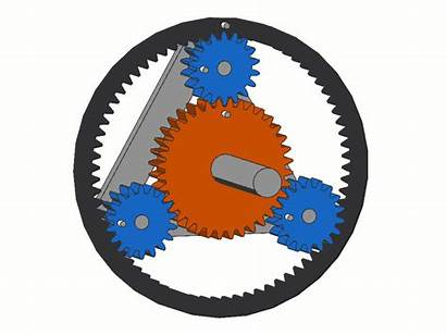 Gear Planetary Solidworks Motion Fixed Sun Configuration