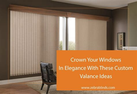 Window Toppers For Blinds by Best 50 Curtain Toppers For Vertical Blinds Decor