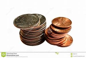 Stack Of Coins Stock Photography - Image: 10502172