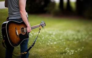 Boy Play Guitar HD Wallpapers