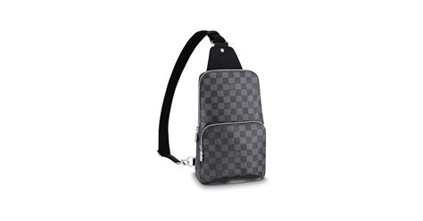 avenue sling bag damier graphite canvas bags louis vuitton