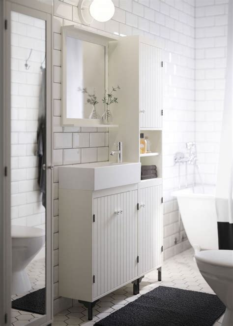 Small Bath Cabinet by Small Bath Vanity A White Bathroom With Narrow Wash