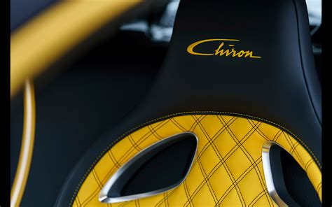 bugatti chiron yellow  black  wheels