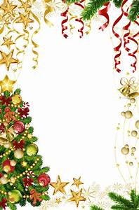 Transparent Christmas Photo Frame with Christmas Tree ...