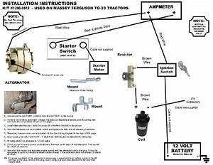 12 Volt Conversion Wiring Diagram For Ferguson