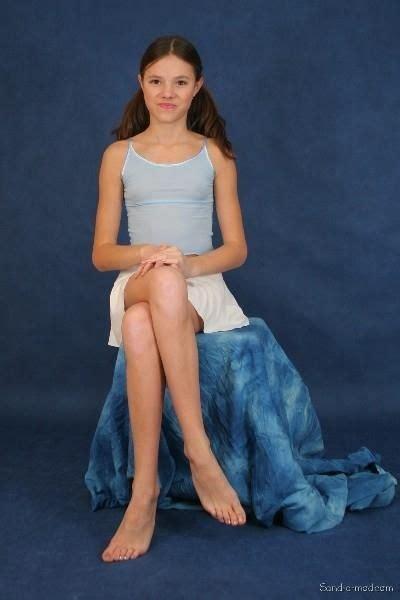 Sandra Orlow Teen Model Sets Foto