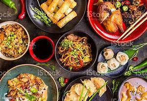 Chinese Food Blank Background Stock Photo - Download Image Now - iStock