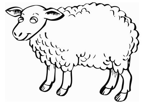 sheep templates printable clipartsco