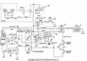 Ariens 915004  000101 -   Ezr 1440  14hp B U0026s  40 U0026quot  Deck Parts Diagram For Electrical