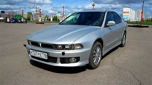 2002 Mitsubishi Galant  Start Up  Engine  And In Depth