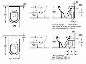Cuvette Sortie Horizontale : cuvette wc subway 37cm sortie horizontale pergamon ~ Premium-room.com Idées de Décoration