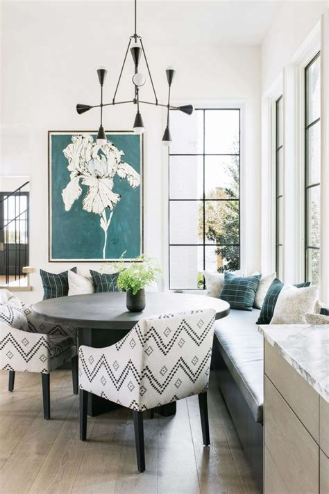 House Kitchen Breakfast Room And Deck by Cortney Bishop Design Plus How To Hang It
