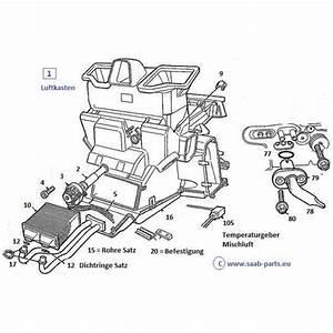 Luft Wärmetauscher Heizung : w rmetauscher saab parts 9 3 typ 1 1998 2003 heizung ~ Lizthompson.info Haus und Dekorationen
