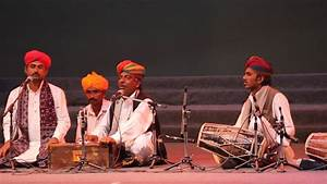 Welcome Song sung by Rajasthani Folk Singer at Bharat Parv ...