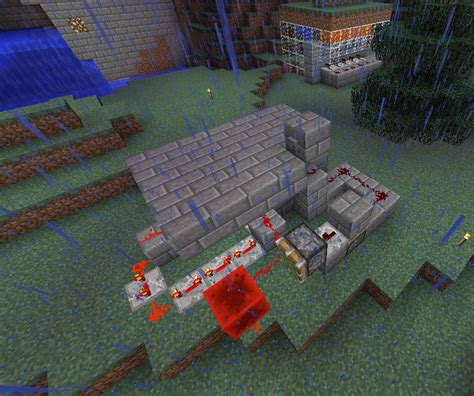 Hidden Minecraft Trapdoor 5 Steps Instructables