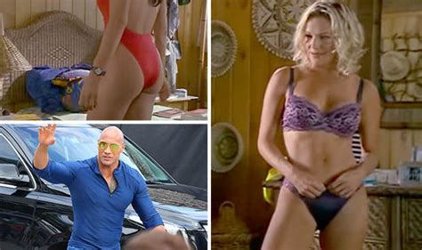 Fans Relive 'sexiest Baywatch Moment Ever As Movie