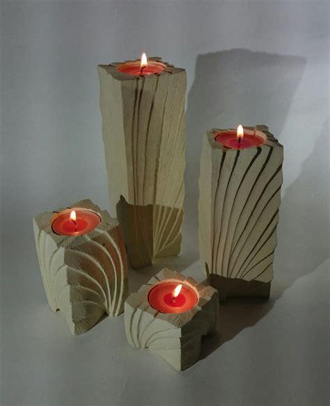 porta a ventaglio quartetto di porta candele in pietra leccese linea ventaglio