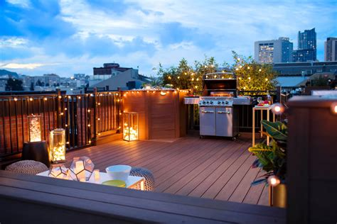 Rooftop Deck  Pavers  Decking Azek