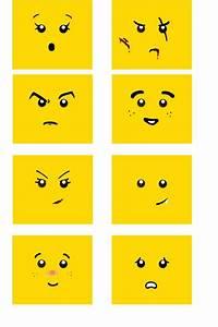82 best mini figures lego images on pinterest birthdays With lego minifigure head template