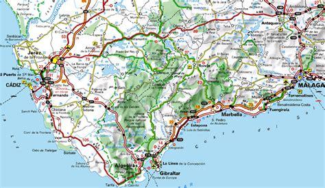 Carte Espagne Du Sud