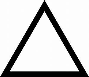 Clipart - Triangle équilatéral
