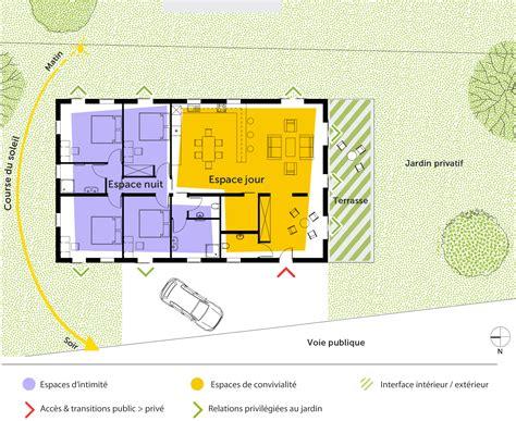 maison 3 chambres plain pied plan maison de plain pied 160 m avec 4 chambres ooreka