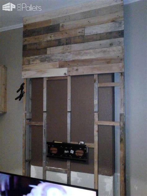 wall  pallet wood mur en bois de palettes wood