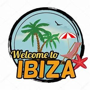 Welcome To Ibiza : herzlich willkommen auf ibiza zeichen stockvektor ~ Eleganceandgraceweddings.com Haus und Dekorationen