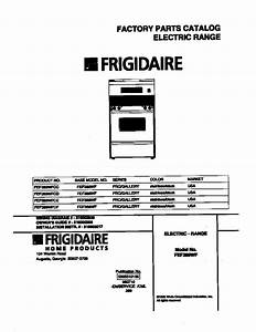 Frigidaire Fef389wfcd Electric Range Timer