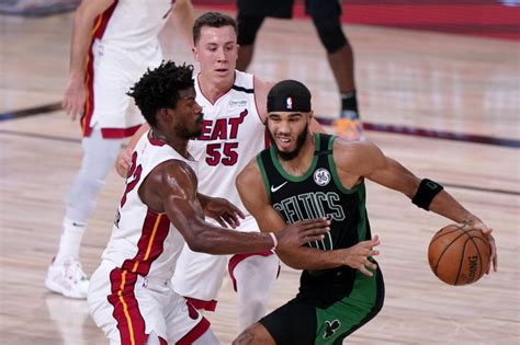 Jimmy Butler, Heat Surge in 2nd Half to Rally Past Celtics ...
