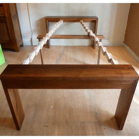 petit bureau en bois chic avec la console extensible archzine fr