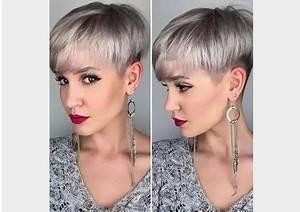 Coupe De Cheveux Femme Courte : coupe courte cheveux fins femme ~ Melissatoandfro.com Idées de Décoration