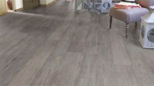 sol vinyle sol pvc imitation parquet use gris bleu texline With imitation parquet à coller