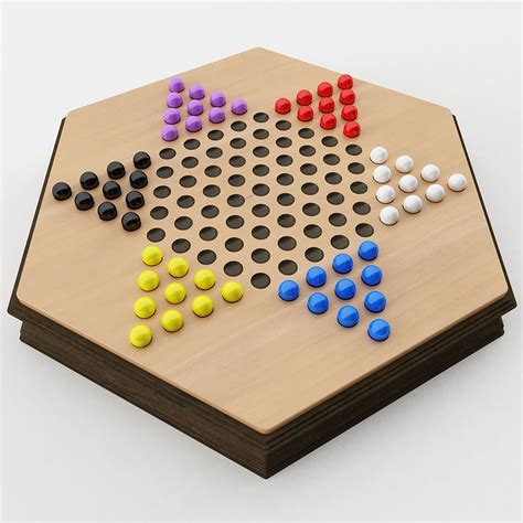 chinese checkers  model cgtrader