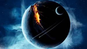 HD Outer Space Planets Broken Spaceships Free Images ...
