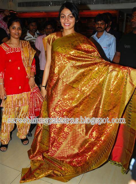 kancheepuram bridal silk sarees collection saree blouse