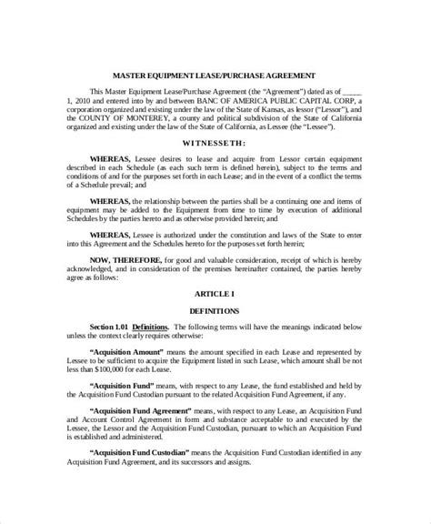 lease purchase agreement word  google docs