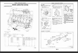 Nissan Forklift Service Manuals 2010