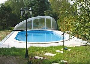 Pool Mit überdachung : pool abdeckung schwimmbecken berdachung ~ Michelbontemps.com Haus und Dekorationen