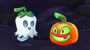 Playing Plants Vs Zombies 2 Lawn Of Doom Halloween