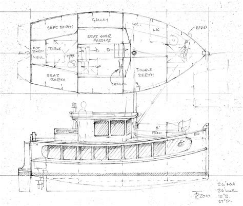 Scow Houseboat Plans by A Cabin Design For A Houseboat