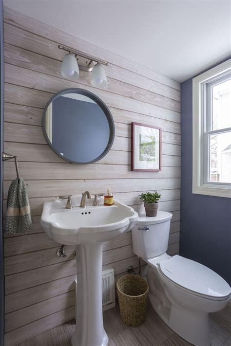 safe  install shiplap   bathroom blog
