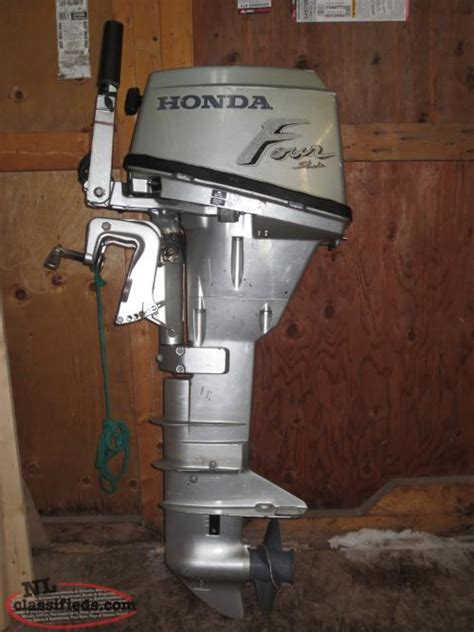 For Sale: 1990 Honda Bf15a Long Shaft Outboard Motor (15hp