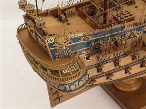 close views  ship model san felipe