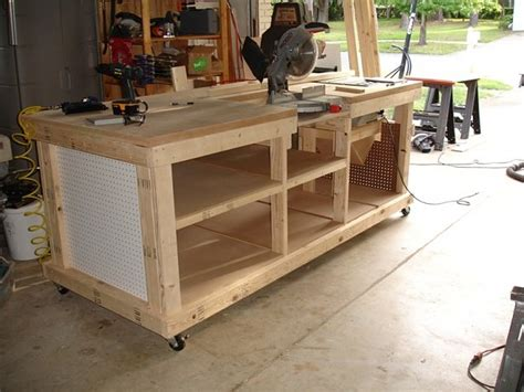 woods  ultimate woodworking bench details