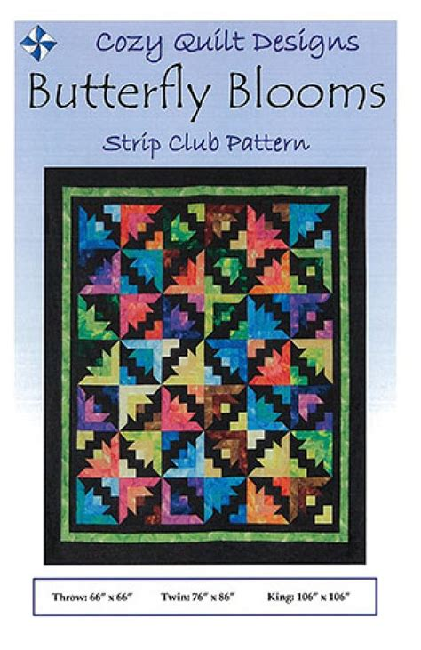 cozy quilt designs butterfly blooms by cozy quilt designs