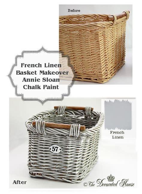 17 best ideas about painted baskets on pinterest wicker