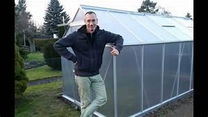 Gewächshaus Mit Fundament : gew chshaus aufbauen mit fundament und vielen nerven youtube ~ Watch28wear.com Haus und Dekorationen