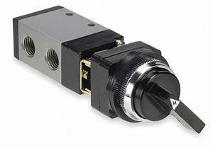 Aro 1  4 U0026quot  Manual Air Control Valve With 3