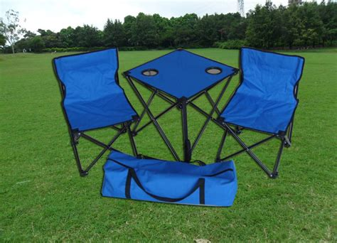 2 person portable folding easy lawn chair and table set